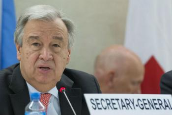 Secretário-geral da ONU, António Guterres. Foto ONU