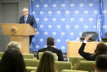 Porta-voz do secretário-geral da ONU, Stephane Dujarric. Foto: ONU/Manuel Elias