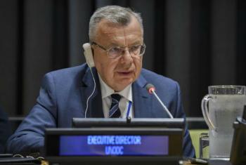 Diretor-geral do Escritório da ONU sobre Drogas e Crime, Unodc, Yuri Fedotov. Foto: ONU/Manuel Elias