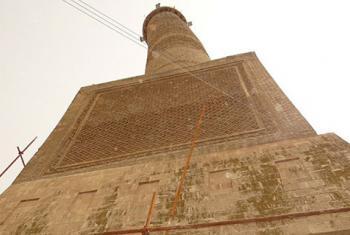 Minarete foi destruído pelo Isil. Foto: Unesco