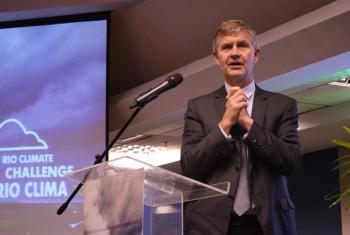 Erik Solheim, diretor-executivo da ONU Meio Ambiente, Pnuma. Foto: UNIC Rio/Pedro Andrade
