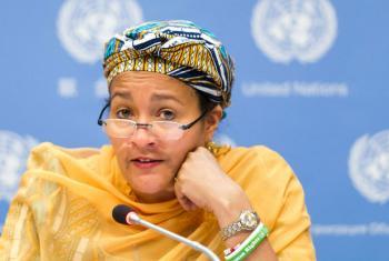 Amina Mohamed. Foto: ONU/Mark Garten