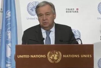 António Guterres afirmou que desfecho da conferência sem acordo não impede que outras iniciativas possam ser desenvolvidas para o Chipre.
