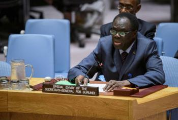 Michel Kafando. Foto: ONU News/Manuel Elias