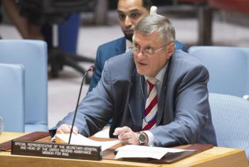 Ján Kubis disse que terroristas continuam uma ameaça para o país. Foto: ONU/Eskinder Debebe