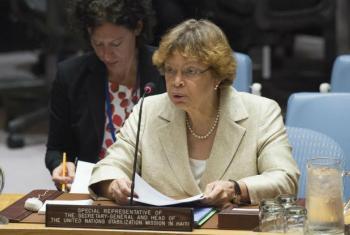 Sandra Honoré. Foto: ONU/Eskinder Debebe