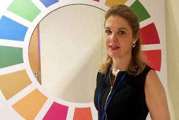 Silvia Rucks. Foto: ONU News