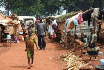 Crianças na República Centro-Africana. Foto: Ocha/Yaye N. Sene
