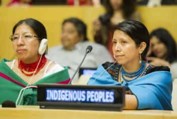 Dia Internacional dos Povos Indígenas Mundiais. Foto: ONU/Rick Bajornas