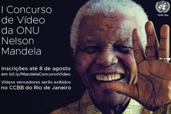 Foto: Fundação Nelson Mandela; Arte: UNIC Rio