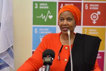 Phumzile Mlambo-Ngcuka. Foto: ONU Mulheres Moçambqiue