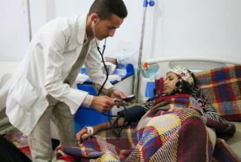 Segundo as Nações Unidas, o Iémen já atingiu 500 mil casos de cólera desde o fim de abril. Foto: Unicef/Fuad