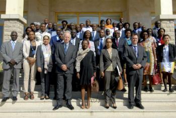 Representantes que participaram no evento em Maputo. Foto: Emidio Josine
