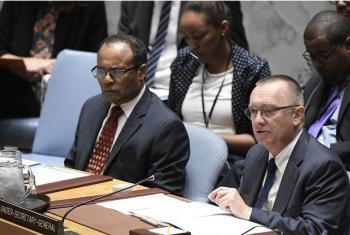 Jeffrey Feltman discursa ao Conselho de Segurança sobre Coreia do Norte