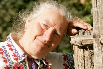 Vera Ciobanu, cidadã da República da Moldávia. Foto: UNFPA.