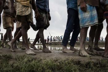 """Zeid Al-Hussein alertou sobre as ações do governo para """"desumanizar"""" os rohingyas. Foto: Unicef/Brown"""