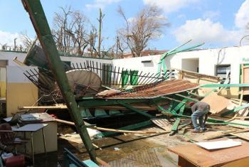 O Unicef já reformou 120 escolas danificadas pelo furacão, Foto: UNFPA/Eddie Wright