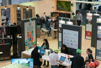Participantes na COP23 em Bonn, na Alemanha. Foto: Unfcc.