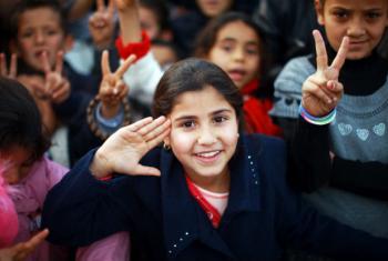 Dia Mundial das Crianças. Foto: ONU/Iason Foounten