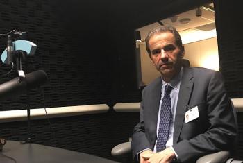 Ministro da Ciência, Tecnologia e Ensino Superior de Portugal, Manuel Heitor, em entrevista à ONU News. Foto: ONU.