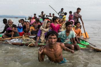 Segundo o porta-voz do Acnur, mais de 100 refugiados rohingya morreram afogados em naufrágios e incidentes com embarcações desde o início da crise em 25 de agosto. Foto: Acnur/Andrew McConnell