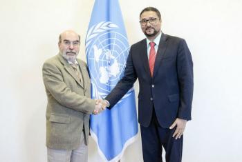 O diretor-geral da FAO, José Graziano da Silva, e o ministro da Agricultura de Cabo Verde, Gilberto Correia Carvalho Silva. Foto: FAO
