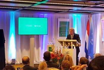 Secretário-geral António Guterres disse que novo centro é sinal para o futuro. Foto: ONU.