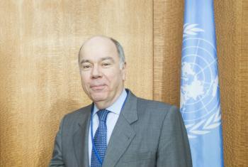 Embaixador do Brasil junto à ONU, Mauro Vieira. Foto: ONU/Rick Bajornas