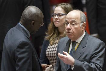 Embaixador Mauro Vieira. Foto: ONU/Rick Bajornas