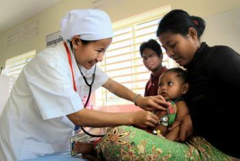 A região do Leste Asiático e Pacífico é onde cerca de 4,3 milhões de bebês vivem em áreas que excedem seis vezes o limite. Foto: Banco Mundial/Chhor Sokunthea