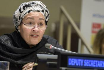 Amina Mohammed. Foto: ONU/Manuel Elias