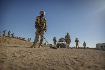 Chade reconhecido por intensificar a proteção de pessoas em áreas de conflito. Foto: ONU/Sylvain Liechti.
