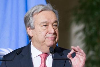 António Guterres reafirma apoio à República Centro-Africana e ao papel da Minusca. Foto: ONU/Violaine Martin