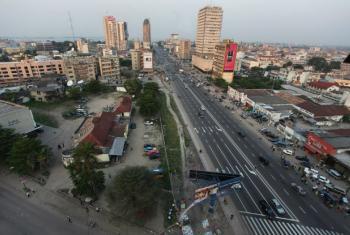 Vista de Kinshasa, capital da RD Congo. Foto: MONUSCO/Myriam Asmani