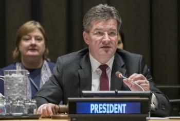 O presidente da Assembleia Geral, Miroslav Lajcák. Foto: ONU/Mark Garten
