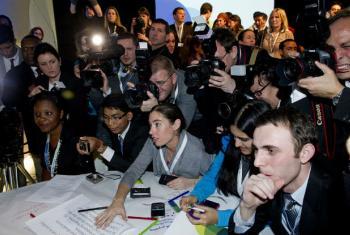 Jovens representam 1,8 bilhão da população mundial. Foto: ONU/Evan Schneide