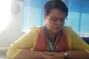 Representante do Unicef na Guiné-Bissau, Christine Jaulmes. Foto: ONU News