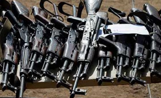 Стрелковое оружие. Фото ООН