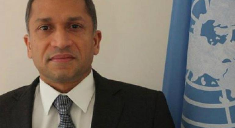 Постоянный координатор ООН в Беларуси Санака Самарасинха / Фото ООН в Беларуси