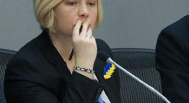 Ирина Геращенко. Фото ООН