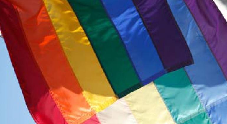 Флаг сексуальных меньшинств. Фото ООН