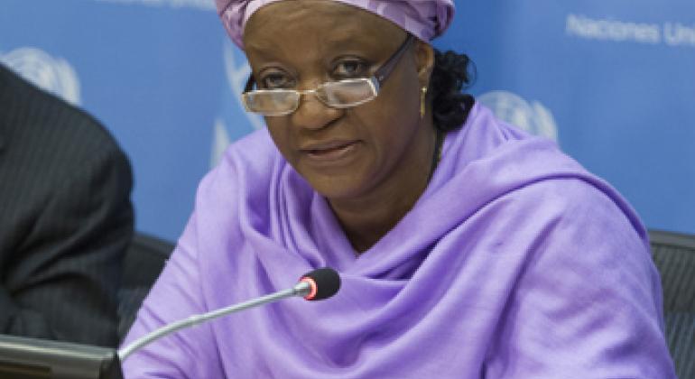 Зейнаб Бангура. Фото ООН