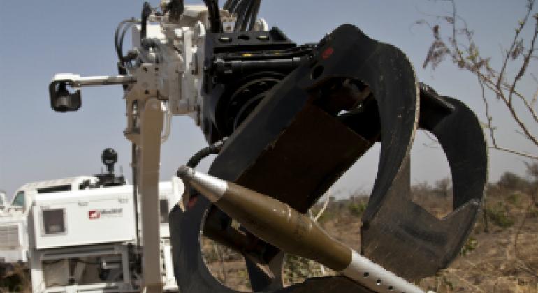 Робот. Фото ООН.