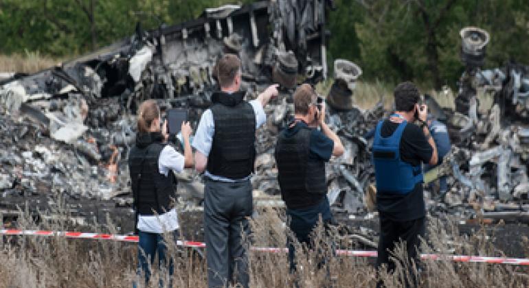 Специальная мониторинговая миссия ОБСЕ в Украине. Фото ООН.