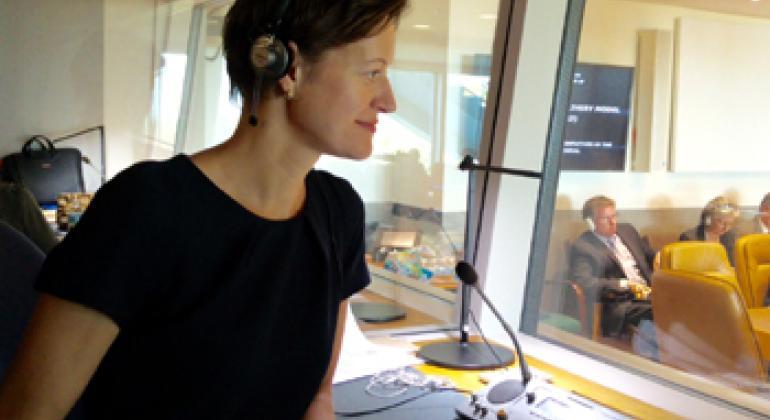 Анна Успенская. Фото Радио ООН