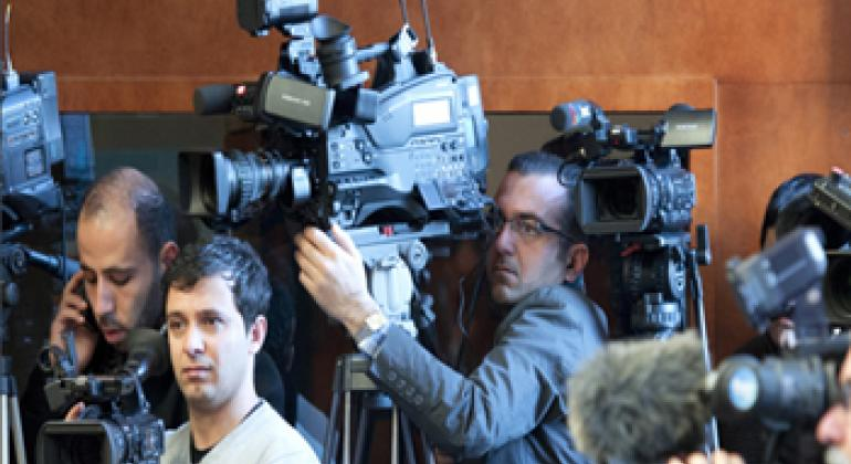 Журналисты. Фото ООН