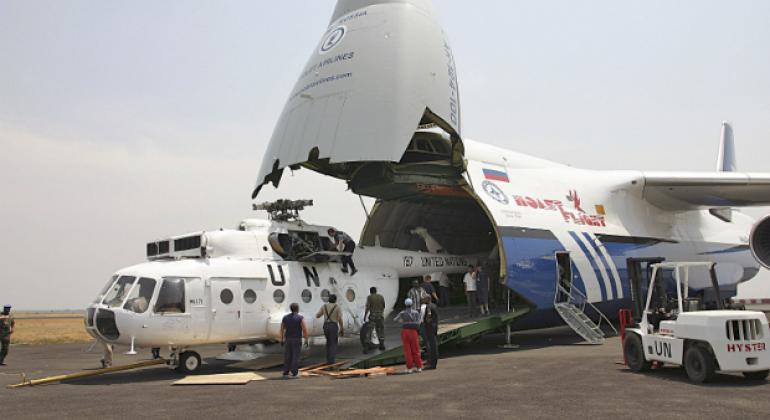 Помощь МЧС России в Бурунди. Фото ООН