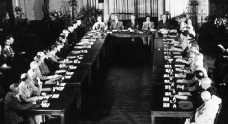 Конференция в Думбартон-оксе. Фото ООН