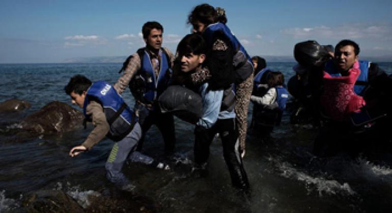 Мигранты. Фото ЮНИСЕФ