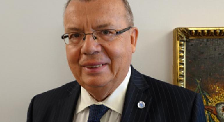 Юрий Федотов. Фото Радио ООН